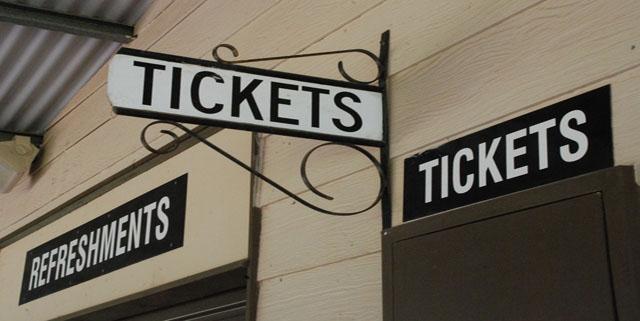 Το εισιτήριο για το φευγιό
