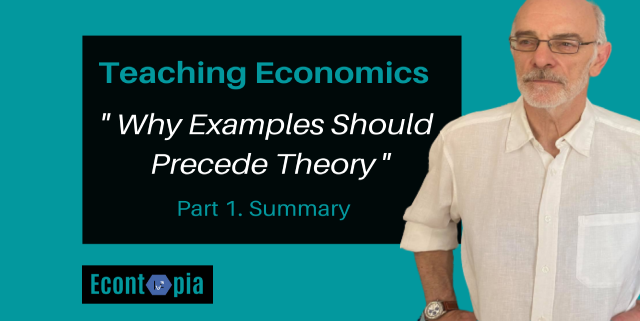 Teaching Economics - Why Examples Should Precede Theory | Video
